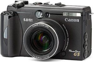 Fotografie Canon G5