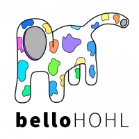 belloHOHL – die erste Illustration und Initialzündung des Kunstprojektes!
