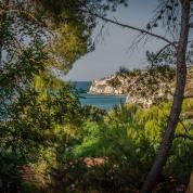 Blick vom Campingplatz San Nicola bei Peschici