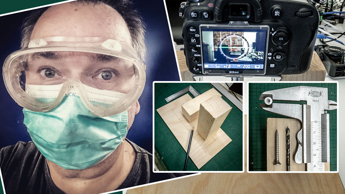 DIY-Projekt Kamerahalter