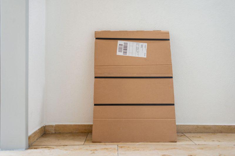 Produkttest Foto-Wandbild von Saal Digital - Das Paket kommt an