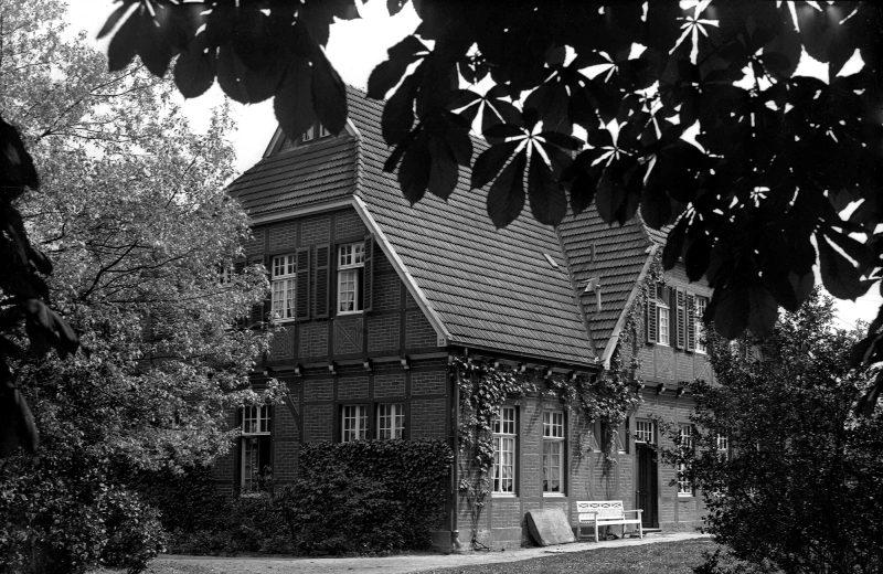 Historische Aufnahme vom Deitmarshof, Emsdetten