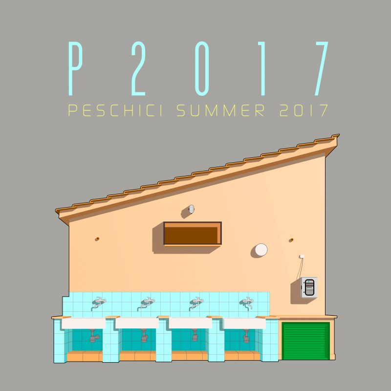 P2017 Peschici Summer 2017 Illustration von Christian Drab